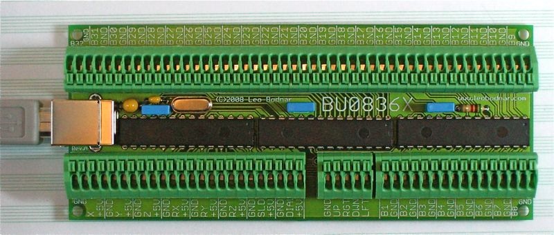 USB Joystick controller